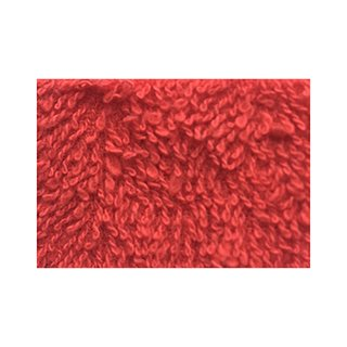 HAIR TOWEL RED (12PK)