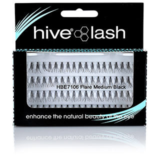 INDIVIDUAL LASHES MEDIUM BLACK