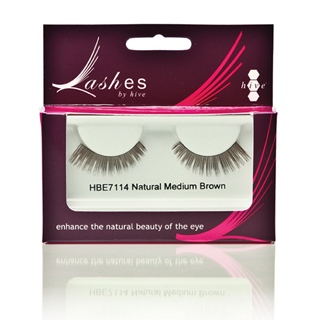 EYELASH STRIPS MEDIUM BROWN