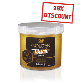 NEW Hive Golden Touch Warm Wax 24K Collection 425g