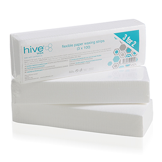 HIVE FLEXIBLE PAPER WAX STRIPS **3 FOR 2**