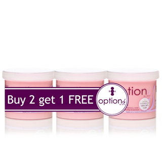 OPTIONS CREME PINK 'SENSITIVE' WAX (3 FOR 2 PACK)