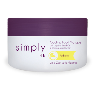 SIMPLY THE COOLING FOOT MASQUE 140ML