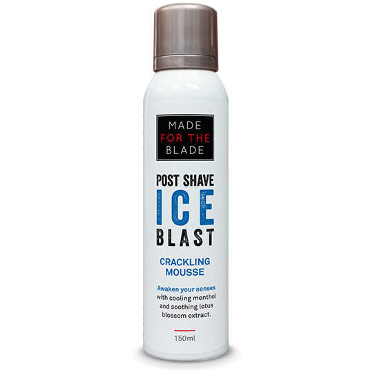 Made For The Blade - Ice Blast Crackling Post Shave Mousse 150ml