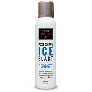 The Hair Movement - Made For The Blade - Ice Blast Crackling Post Shave Mousse 150ml