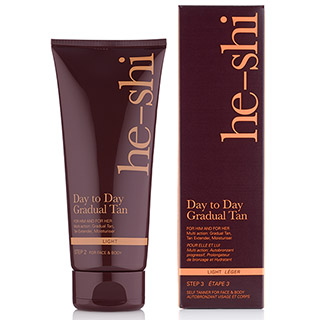 HE SHI DAY TO DAY GRADUAL TAN 200ML