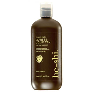HE-SHI EXPRESS TANNING LIQUID 500ML