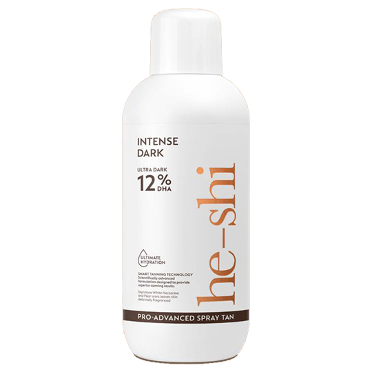 He-Shi Pro Advanced Spray Tan Intense Dark 1Litre