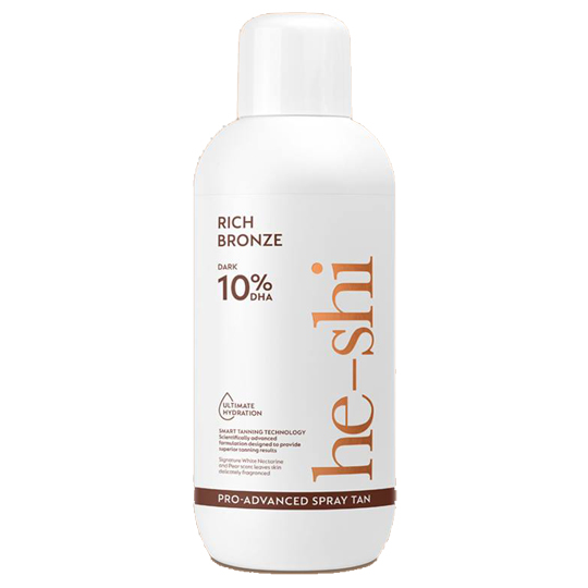 He-Shi Pro Advanced Spray Tan Rich Bronze 1Litre