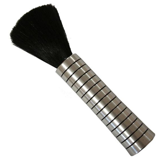 HAIRTOOLS HEAD JOG 198 NECK BRUSH SILVER/BLACK