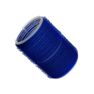 HAIR TOOLS CLING ROLLERS LARGE BLUE 40MM