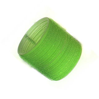 HAIR TOOLS CLING ROLLERS JUMBO GREEN 61MM