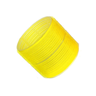 HAIR TOOLS CLING ROLLERS JUMBO YELLOW 66MM