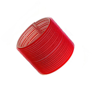 HAIR TOOLS CLING ROLLERS JUMBO RED 70MM