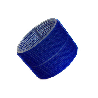 HAIR TOOLS CLING ROLLERS JUMBO DARK BLUE 76MM