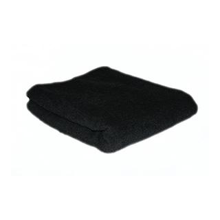 BLACK HAIR TOWEL 12PK - HAIR TOOLS