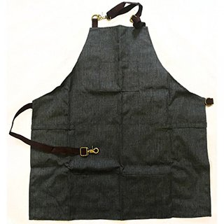 Hair Tools Barber Apron Charcoal