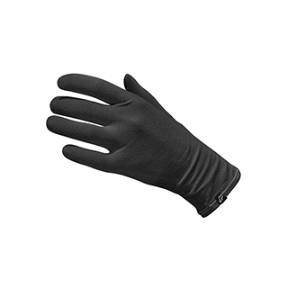 Neqi ElephantSkin Organic Cotton Gloves Black - Large / Extra Large - 1 x Pair