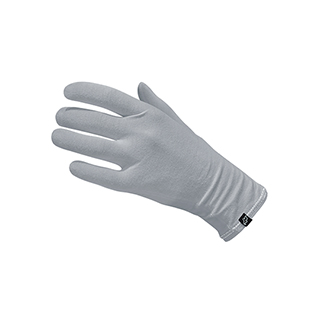 Neqi ElephantSkin Organic Cotton Gloves - Grey - Small / Medium - 1 x Pair