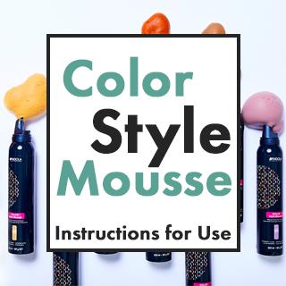 Indola Colour Mousse Instructions