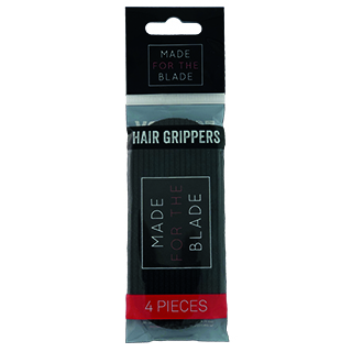 Made For The Blade Hair Gripper Pack of 4 - Black