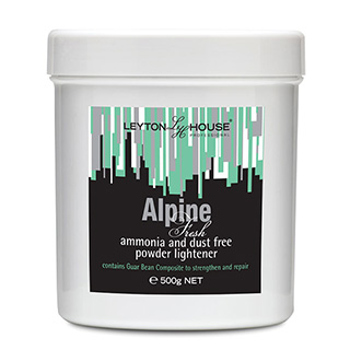 LH ALPINE AMMONIA FREE LIGHTENING POWDER 500G