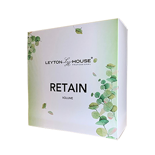 Leyton House Retain Gift Box (contains volume shampoo 250ml, volume conditioner 250ml + illumin oil