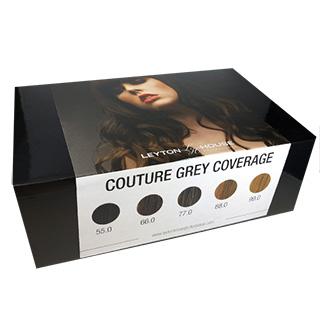 Leyton House Couture Grey Coverage Minikit (5 Tubes + 1 Developer)