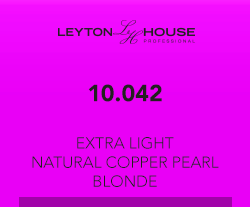 Leyton House Silk Demi 10/042 Extra Light Natural Copper Pearl Blonde 80ml