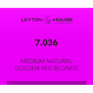 LH SILK DEMI 7/036 MEDIUM NATURAL GOLDEN RED BLONDE 80ML