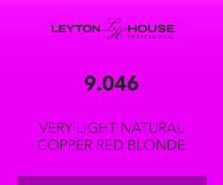 Leyton House Silk Demi 9/046 Very Light Natural Copper Red Blonde 80ml