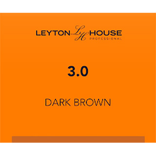 LH SILK PERMANENT 3/0 DARK BROWN