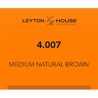 LH SILK PERMANENT 4/007 MEDIUM NATURAL BROWN 100ML