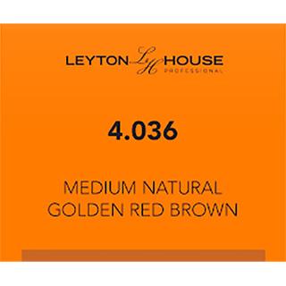LH SILK PERMANENT 4/036 MED NATURAL GOLDEN RED BROWN 100ML