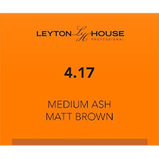 LH SILK PERMANENT 4/17 MEDIUM ASH MATT BROWN 100ML