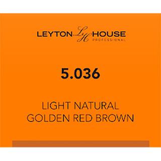 LH SILK PERMANENT 5/036 LIGHT NATURAL GOLDEN RED BROWN 100ML