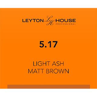 LH SILK PERMANENT 5/17 LIGHT ASH MATT BROWN 100ML