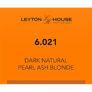 LH SILK PERMANENT 6/021 DARK NATURAL PEARL ASH BLONDE 100ML