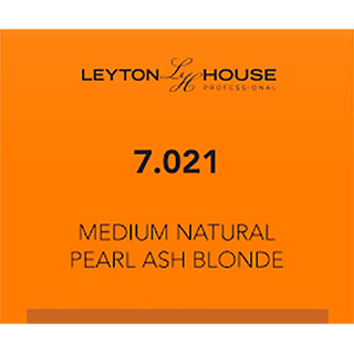 LH SILK PERMANENT 7/021 MED NATURAL PEARL ASH BLONDE 100ML
