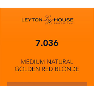 LH SILK PERMANENT 7/036 MED NATURAL GOLDEN RED BLONDE 100ML