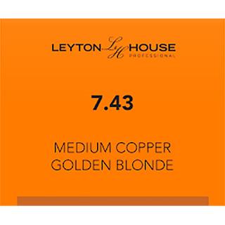 LH SILK PERMANENT 7/43 MEDIUM COPPER GOLDEN BLONDE 100ML