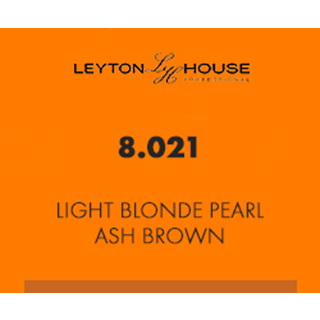 Leyton House Silk Permanent Light Blonde Pearl Ash Brown 100ml
