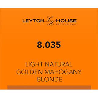 LH SILK PERMANENT 8/035 LIGHT NATURAL GOLDEN MAHOGANY BLONDE