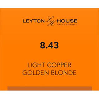 LH SILK PERMANENT 8/43 LIGHT COPPER GOLDEN BLONDE 100ML