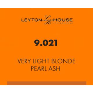 Leyton House Silk Permanent 9/021 Very Light Blonde Pearl Ash 100ml