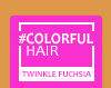 New Loreal Colourful Hair Direct Colour - Shimmering Fuchsia 90ml