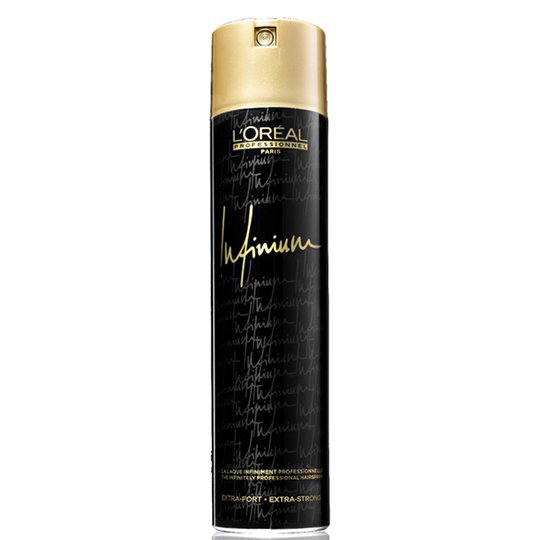Infinium Black Hairspray Extra Strong 500ml
