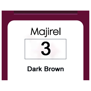 MAJIREL 3 DARK BROWN