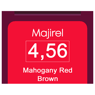 Majirel 4,56 Mahogany Red Brown
