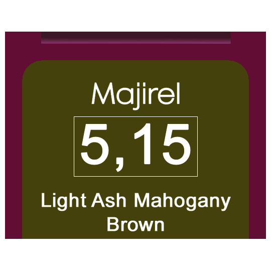 Majirel 5.15 Light Ash Mahogany Brown